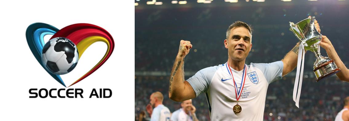 Soccer Aid - Robbie Williams
